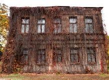 可怕老大厦 库存照片