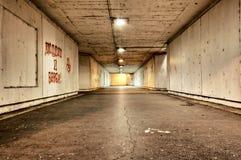 可怕隧道 免版税库存照片
