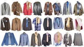 可怜的人民的衣物 库存图片