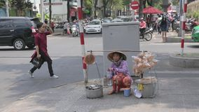 可怜的妇女在越南 影视素材
