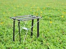 可折叠的椅子 免版税库存照片