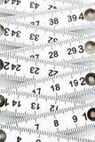 可折叠的评定磁带 免版税库存图片