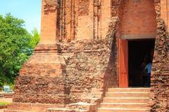 可汗人民的古庙在富安省,越南 免版税图库摄影