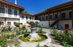 可汗的宫殿在Bakhchisaray 库存图片