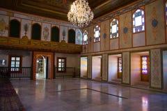 可汗的宫殿的内部 免版税图库摄影
