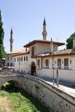 可汗的宫殿的北门的看法 免版税库存图片
