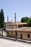 可汗的宫殿的看法 库存图片