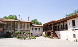 可汗的宫殿的看法 免版税库存照片
