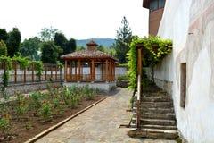 可汗的宫殿露台 库存照片
