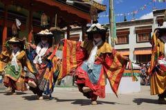 可汗舞蹈性能 免版税库存照片