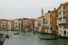 可爱和恰好威尼斯 库存图片
