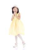 可爱的亚洲孩子 库存照片