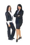 可爱的企业二妇女 免版税库存图片