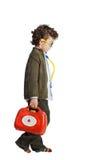可爱的儿童医生 免版税库存图片