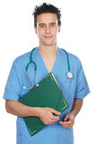 可爱的医学学员 库存照片