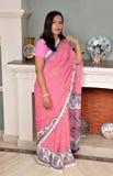 可爱的印第安夫人 免版税库存照片