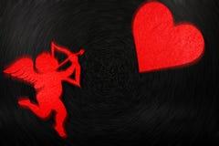 可爱的图象为情人节 图库摄影