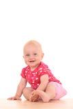 可爱的女婴 图库摄影
