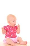 可爱的女婴 免版税图库摄影