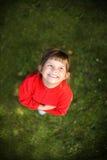 可爱的女孩一点 图库摄影