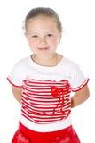 可爱的女孩年轻人 免版税库存图片
