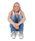 可爱的女孩斯堪的纳维亚人 库存图片