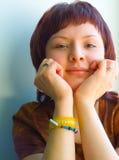 可爱的女孩 免版税库存图片