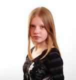 可爱的女性少年 图库摄影