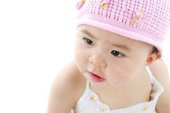 可爱的女婴 免版税库存图片