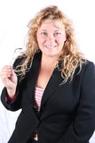 可爱的妇女 免版税库存图片