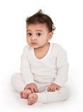 可爱的婴孩印地安人 免版税库存照片
