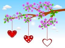 可爱的浪漫春天 免版税库存图片