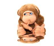 可爱的猴子照片玩具 库存图片