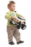 可爱的男婴 免版税图库摄影