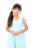 可爱的矮小的亚洲人照片  免版税库存图片
