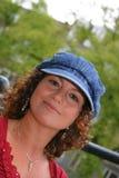 可爱的突尼斯妇女 库存照片