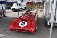 可爱的老经典赛车 免版税库存照片