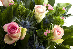 可爱的花束 库存图片