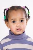 可爱的非洲婴孩 图库摄影