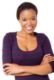 可爱的非洲妇女 免版税库存照片