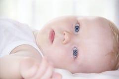 可爱的婴孩一点 免版税库存图片