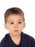 可爱的婴孩九个月 库存图片