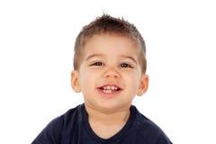 可爱的婴孩九个月 免版税库存照片