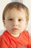 可爱的婴孩画象  库存照片