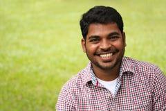 可爱,英俊&聪明的印第安企业家 免版税库存图片