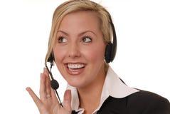 可爱114企业的夫人 免版税库存照片