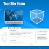 可用两eps8格式化jpeg模板网站 库存图片