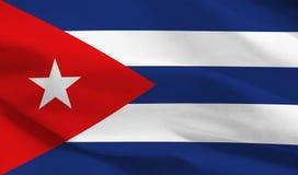 可用的古巴标志玻璃样式向量 免版税图库摄影