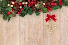 可用的响铃圣诞节例证向量 免版税库存图片