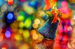 可用的响铃圣诞节例证向量 免版税图库摄影